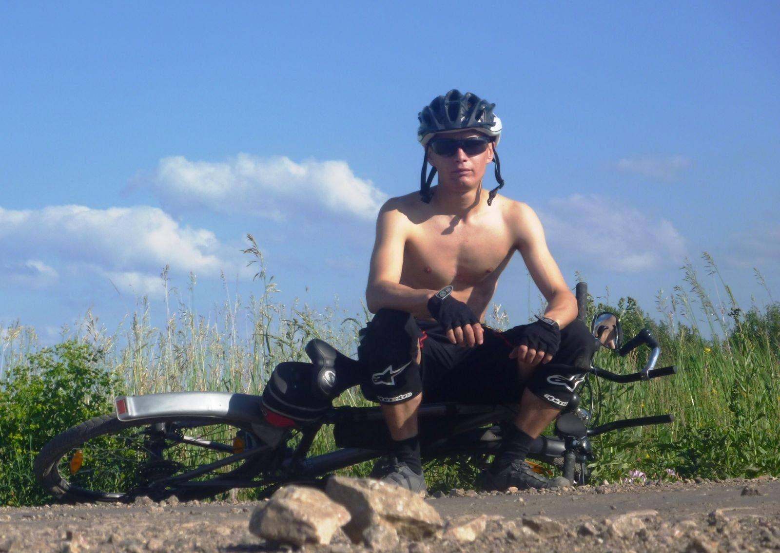 Отдыхаю... до Шаблиша несколько км.