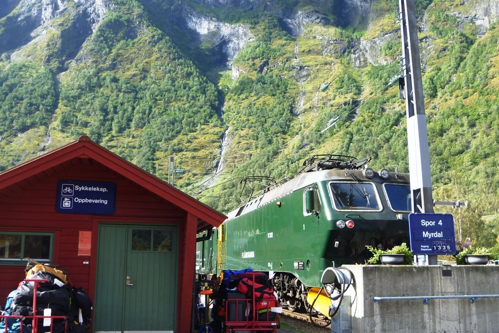Где-то в горах Норвегии