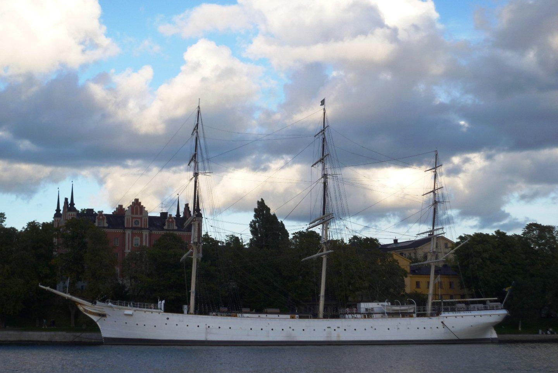 Парусник в Швеции