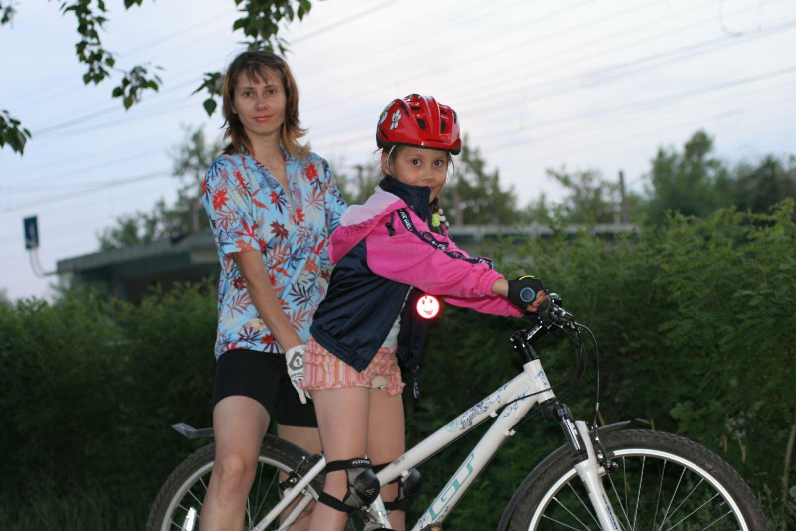 Настена с дочкой