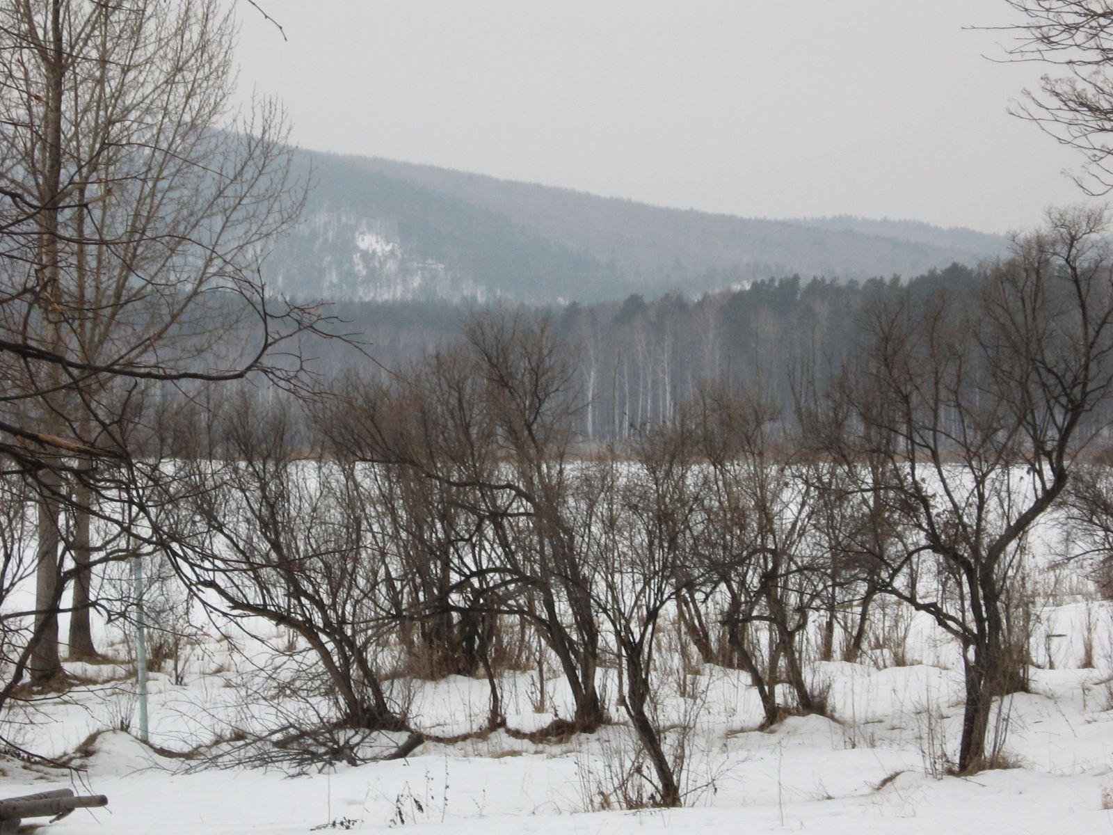 Аракуль зимой